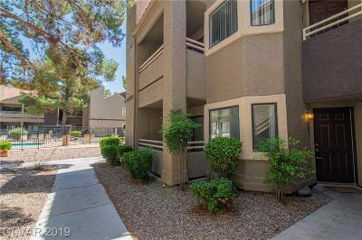 Las Vegas Condo/Townhouse For Sale: 5044 Rainbow Boulevard #101