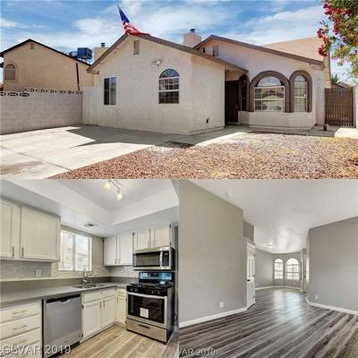 Las Vegas NV Single Family Home For Sale: $209,999
