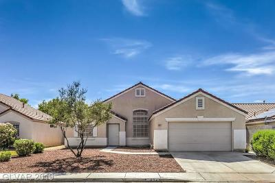 North Las Vegas NV Single Family Home Under Contract - Show: $259,788