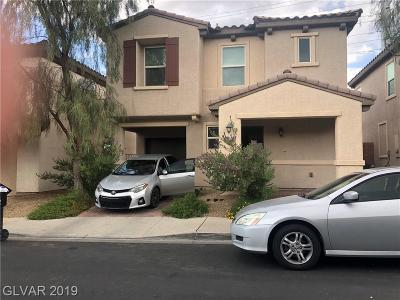 Las Vegas Single Family Home For Sale: 232 Caraway Bluffs Place