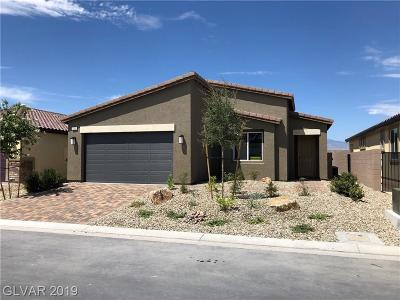 North Las Vegas Single Family Home For Sale: 7325 Bedazzle Street #Lot 130