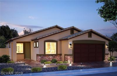 North Las Vegas Single Family Home Under Contract - No Show: 4218 Diya Avenue #Lot #182