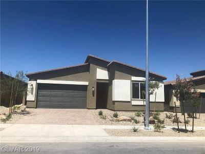 North Las Vegas Single Family Home For Sale: 4206 Diya Avenue #Lot #185