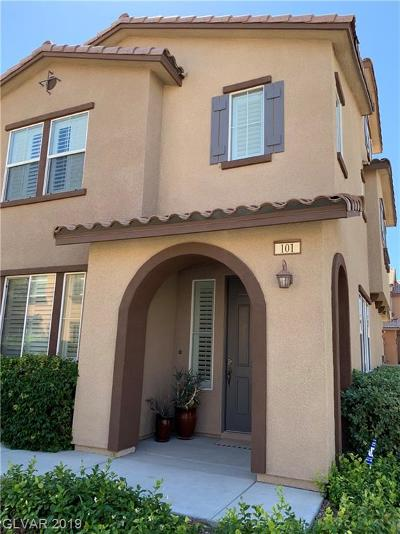Macdonald Foothills Pa-18a Pha, Laguna Bay Townhome Est, Summerlin Village 19 Phase 2-L, Affinity, Summerlin Village 18 Parcel L, V At Lake Las Vegas Condo/Townhouse For Sale: 11386 Belmont Lake Drive #101
