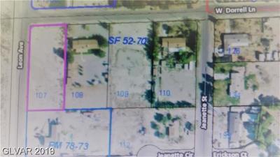 Centennial Hills Residential Lots & Land For Sale: 5637 Dorrell Lane