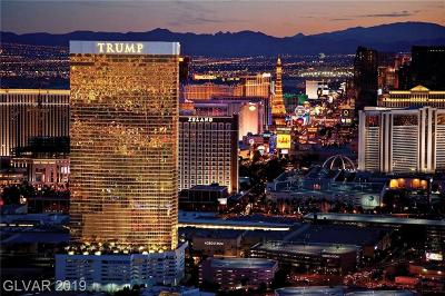 Trump Intl Hotel & Tower-, Trump Intl Hotel & Tower- Las High Rise For Sale: 2000 Fashion Show Drive #3027