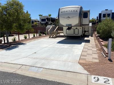 Boulder City Residential Lots & Land For Sale: 838 Pelican Way #92