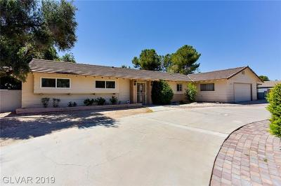 Las Vegas, Henderson Single Family Home For Sale: 2147 Gabriel Drive
