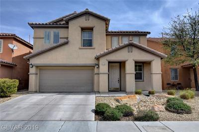 North Las Vegas Single Family Home For Sale: 6720 Yellowhammer Place