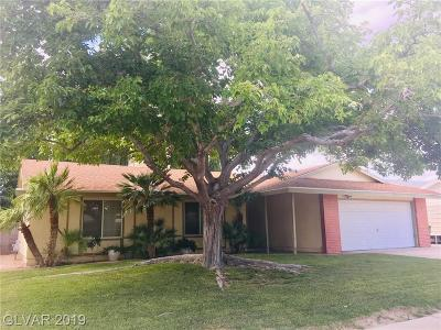 Boulder City Single Family Home Under Contract - Show: 1425 Bronco Road
