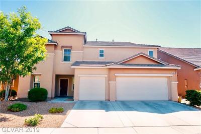 North Las Vegas Single Family Home For Sale: 8224 Silver Vine Street