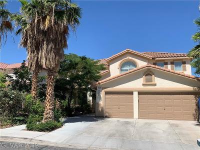 Seven Hills Single Family Home For Sale: 1023 Ocean Shell Street