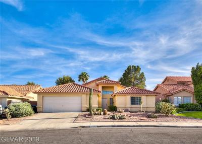 Henderson Single Family Home For Sale: 1831 Escondido Terrace