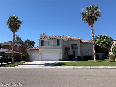 North Las Vegas Single Family Home For Sale: 1021 Moorpoint Drive