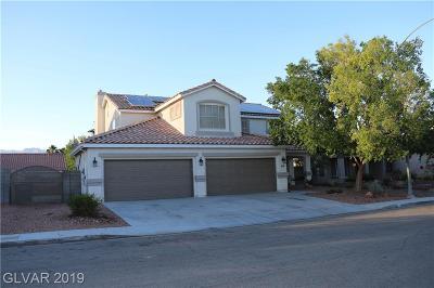 North Las Vegas Single Family Home For Sale: 916 Dover Glen Drive