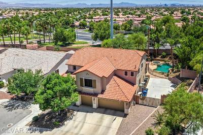 North Las Vegas Single Family Home Under Contract - Show: 1725 Silent Sunset Avenue