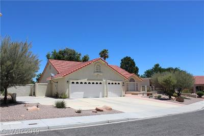 Boulder City Single Family Home For Sale: 802 Del Monte Lane