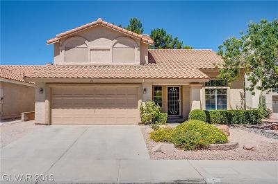 Green Valley South Single Family Home For Sale: 25 Fantasia Lane