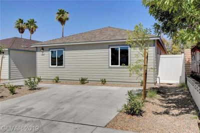 Las Vegas Single Family Home For Sale: 2325 Mariposa Avenue