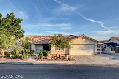 Las Vegas Single Family Home For Sale: 6081 Halehaven Drive