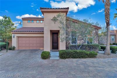 Single Family Home For Sale: 1258 Casa Palermo Circle