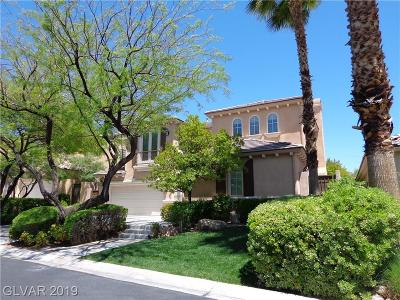 Red Rock, Red Rock Cntry Club At Summerl Rental For Rent: 3294 Mission Creek Court