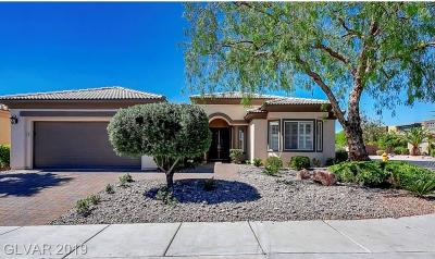 Boulder City, Henderson, Las Vegas, North Las Vegas Single Family Home For Sale: 10741 Angelo Tenero Avenue