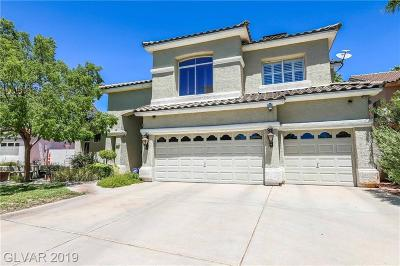 Henderson Single Family Home Under Contract - Show: 1716 Sand Storm Court