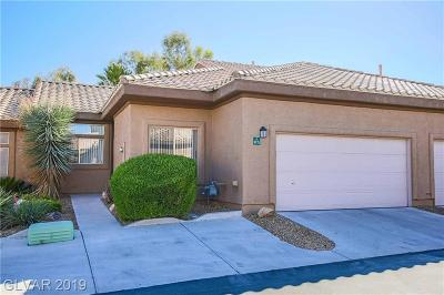 North Las Vegas Condo/Townhouse For Sale: 4775 Wild Draw Drive