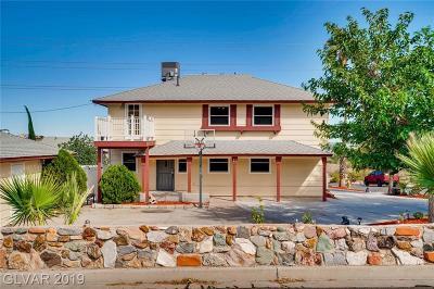 Boulder City Single Family Home For Sale: 11 Hillcrest Lane