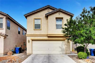 Single Family Home Under Contract - No Show: 8616 Dodds Canyon Street