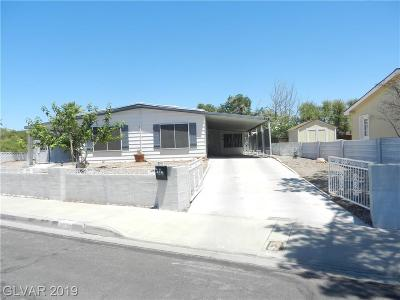 Las Vegas Manufactured Home Under Contract - No Show: 312 Sir Jeffery Street