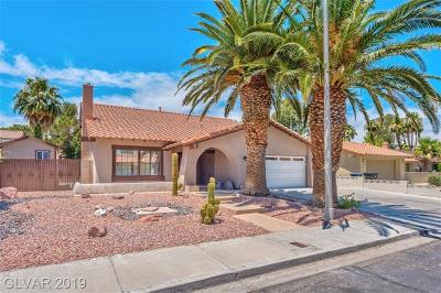 Henderson Single Family Home Under Contract - No Show: 343 Esquina Drive
