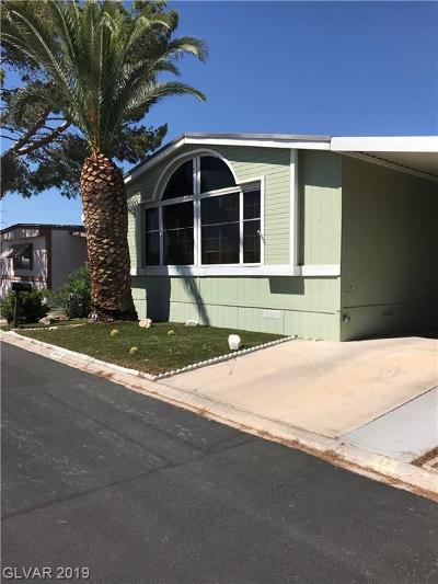 Las Vegas Manufactured Home For Sale: 4545 Royal Ridge Boulevard