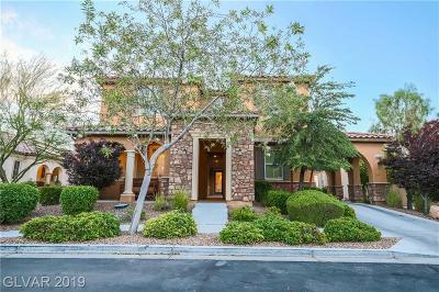 Single Family Home For Sale: 3160 Alla Prima Avenue