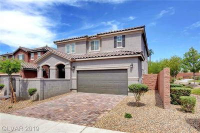 Seven Hills Single Family Home For Sale: 1110 Echo Pass Street