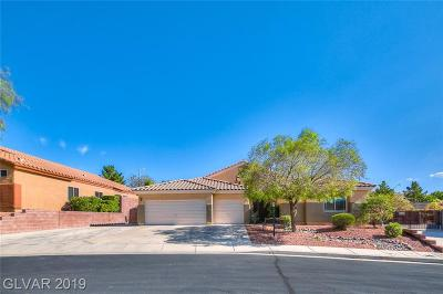 Henderson Single Family Home For Sale: 1551 Cattle Ranch Place