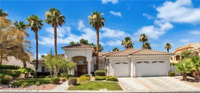 Las Vegas Single Family Home For Sale: 8120 Sapphire Bay Circle