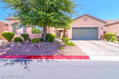 North Las Vegas Single Family Home For Sale: 6920 Auklet Lane