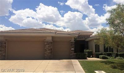 Single Family Home For Sale: 2735 Desert Troon Street