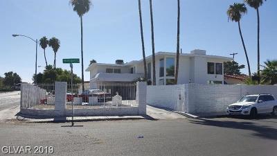 Las Vegas Single Family Home For Sale: 3819 Eastern Avenue