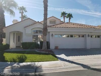 Las Vegas Single Family Home For Sale: 8125 Horizon Lake Drive