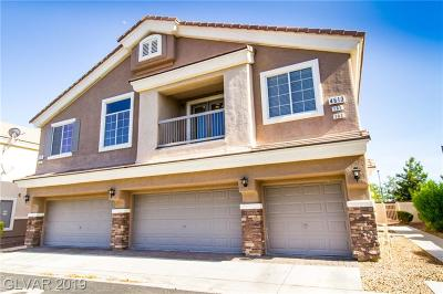North Las Vegas Condo/Townhouse Under Contract - No Show: 4613 Bell Cord Avenue #101