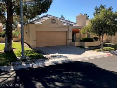 Las Vegas Single Family Home For Sale: 348 Wild Plum Lane