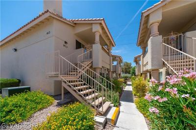 Las Vegas Condo/Townhouse For Sale: 913 Rockview Drive #202