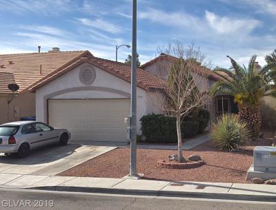 Single Family Home Under Contract - No Show: 1713 Splinter Rock Way