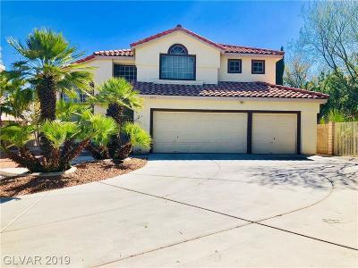 Las Vegas NV Single Family Home For Sale: $398,000