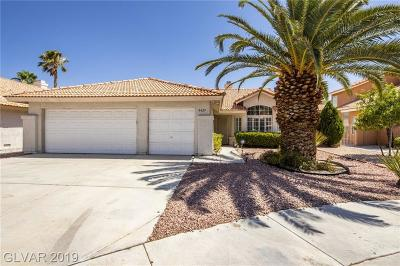 Las Vegas Single Family Home Under Contract - No Show: 8429 Airmont Court