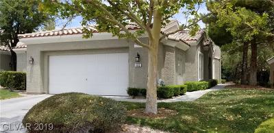 Summertrail Summerlin Village Condo/Townhouse Under Contract - No Show: 1908 Summer Palm Place #103