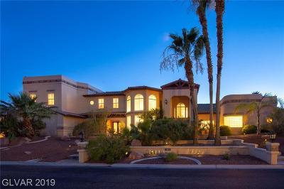 Las Vegas Single Family Home For Sale: 1901 Jasmine Joy Court
